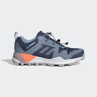 Terrex Skychaser XT GORE-Tex Hiking Shoes Tech Indigo / Dash Grey / Signal Coral EF3349