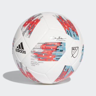 MLS Glider Ball White / Black / Real Coral / Shock Red DP8579