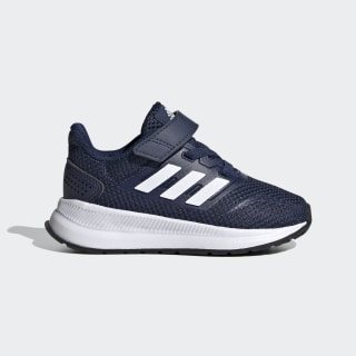 Zapatilla Run Falcon Dark Blue / Cloud White / Core Black EG6153