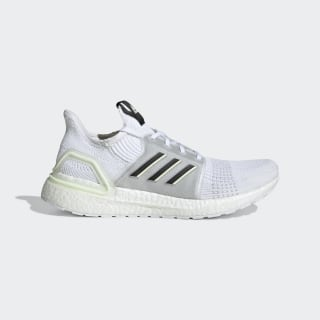 Ultraboost 19 Shoes Cloud White / Core Black / Aero Green FV2554