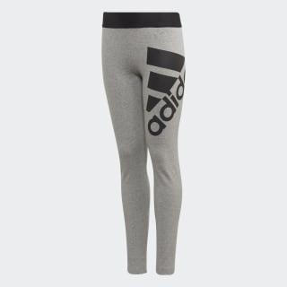 Leggings Badge of Sport Must Haves Medium Grey Heather / Black ED4616