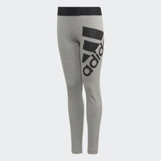 Must Haves Badge of Sport Leggings Medium Grey Heather / Black ED4616
