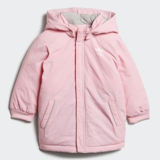 Пуховик Trefoil Real light pink / white D96073