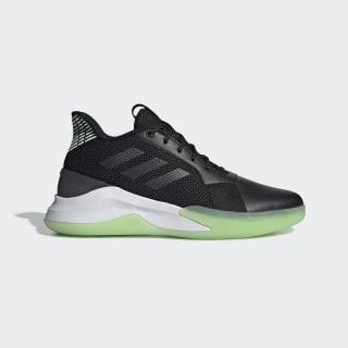 Tenis Runthegame core black/grey six/glow green EE9652