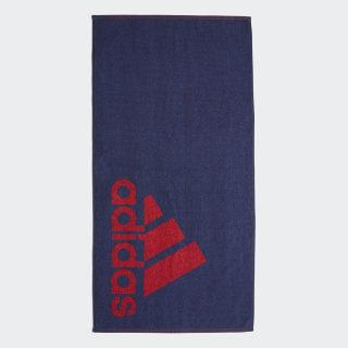 adidas Handdoek Small Tech Indigo / Collegiate Red FJ4773