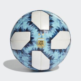 Pelota Oficial Partidos Argentina 19 White / Football Blue / Light Aqua / Blue Night DY2520