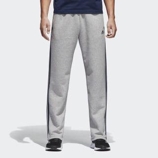 Флисовые брюки-джоггеры Essentials 3-Stripes seryi S96961
