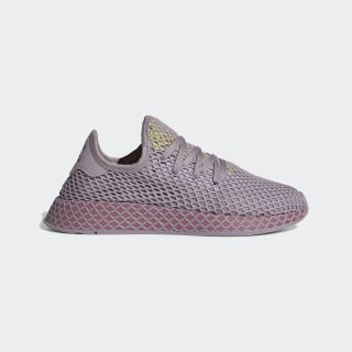 Deerupt Runner Shoes Soft Vision / Trace Maroon / Shock Yellow CG6084