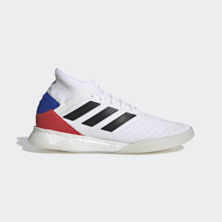 Sapatos Predator 19.1 Cloud White / Core Black / Active Red F35848