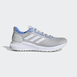 Zapatillas Solar Ride Grey One / Cloud White / Glow Blue EF1442
