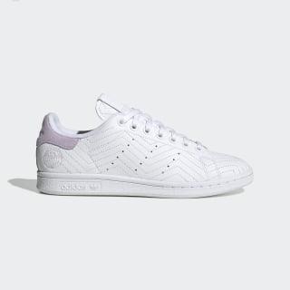 Chaussure Stan Smith Cloud White / Cloud White / Purple Tint FV4067