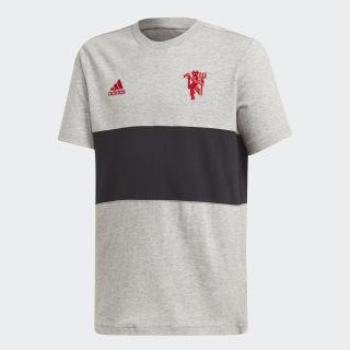 เสื้อยืดพิมพ์ลาย Manchester United Medium Grey Heather DX9074