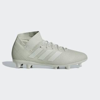 Calzado de Fútbol Nemeziz 18.3 Terreno Firme Ash Silver / Ash Silver / Running White DB2110