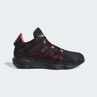Dame 6 Shoes Core Black / Core Black / Shock Red EF9875