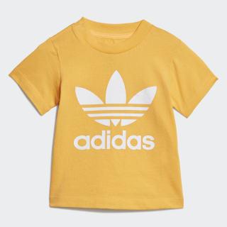 T-shirt Trefoil Real Gold / White ED7666
