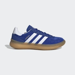 Spezial Boost Schuh Royal / Cloud White / Gold Met. EF0645