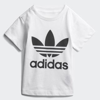 T-shirt Trefoil White/Black CE4316