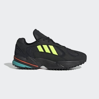 Yung-1 Trail Shoes Core Black / Solar Yellow / Hi-Res Aqua EE5321