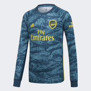 Arsenal Home Goalkeeper Jersey Utility Green / Eqt Yellow EH5661