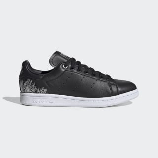 Stan Smith Schoenen Core Black / Core Black / Silver Metallic EH1273