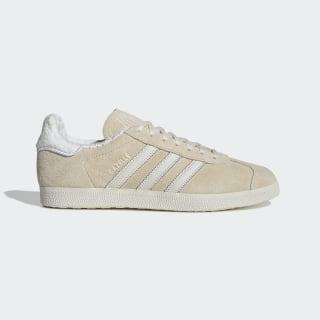 Sapatos Gazelle Ecru Tint / Chalk White / Cloud White EE5501