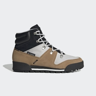 Terrex Snowpitch Climawarm Boots Grey One / Core Black / Raw Desert FV5164