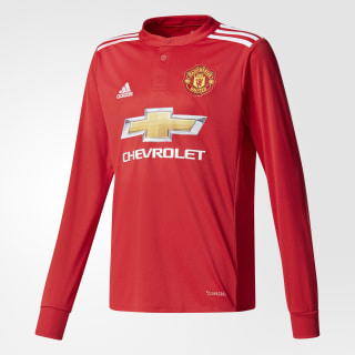 Camisola Principal do Manchester United Real Red/White/Black AZ7583