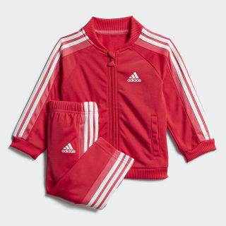 Conjunto deportivo Shiny Active Pink / Real Pink / White FJ3955