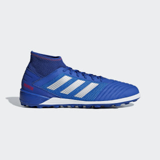 Botines Predator Tango 19.3 Césped Artificial Bold Blue / Silver Met. / Active Red BB9084