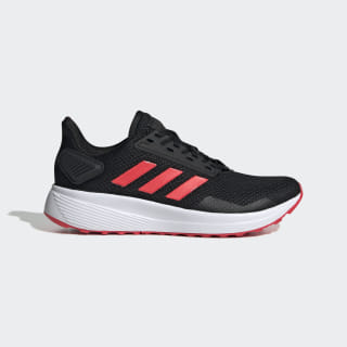 Duramo 9 Shoes Core Black / Shock Red / Cloud White EE8187