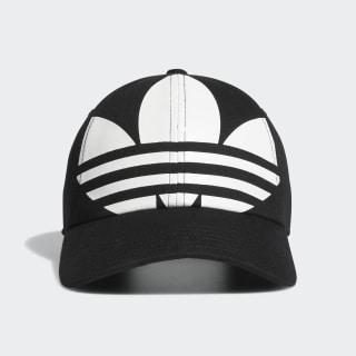 Relaxed Big Trefoil Hat Black CM3927