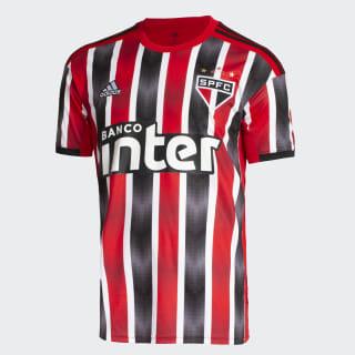 Camisa São Paulo FC 2 red/white/black DZ5637