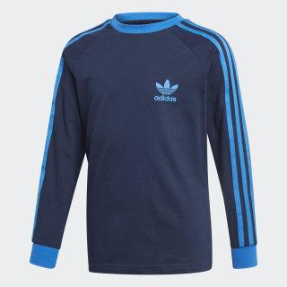Camiseta 3 Rayas Collegiate Navy / Bluebird EJ9380