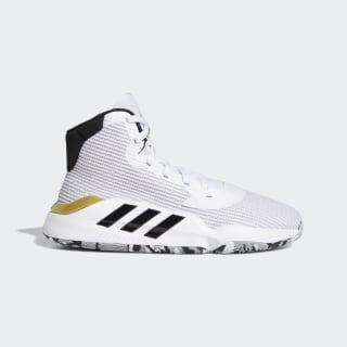 Баскетбольные кроссовки Pro Bounce 2019 Cloud White / Core Black / Gold Metallic EE3896