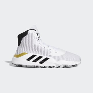 Tenis Pro Bounce 2019 Cloud White / Core Black / Gold Metallic EE3896