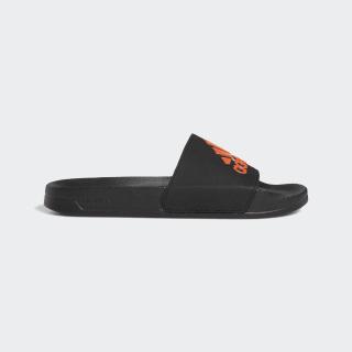Шлепанцы Adilette core black / active orange / core black EE9015