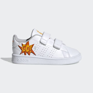 Zapatillas Advantage ftwr white/ftwr white/orange EF0305