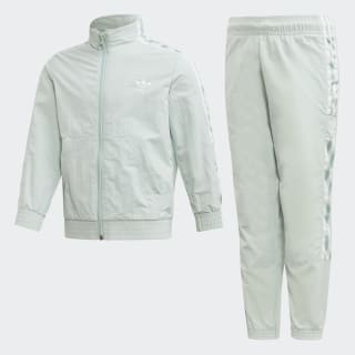 New Icon Tracksuit Vapour Green / White ED7733