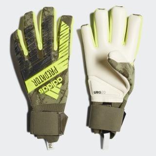 Predator Pro Goalkeeper Gloves Raw Khaki / Trace Olive FJ5922