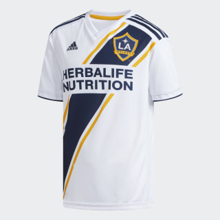 LA Galaxy Home Replica Jersey White / Collegiate Navy / Collegiate Gold CE3294