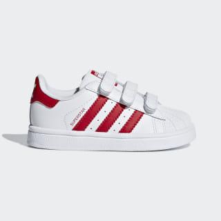 Superstar Shoes Cloud White / Scarlet / Scarlet CG6639