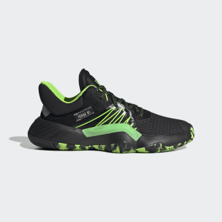 Zapatillas D.O.N. Issue 1 core black/team solar green/silver met. EF2933