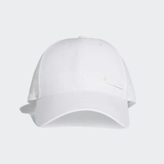Classic Six-Panel Lightweight Kappe White / White / Black BK0789