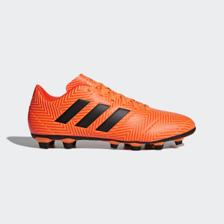 Calzado de Fútbol Nemeziz 18.4 Multiterreno ZEST/CORE BLACK/SOLAR RED DA9594