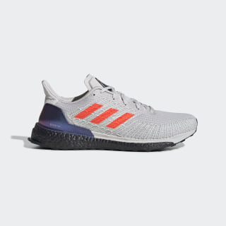 Zapatilla Solarboost ST 19 Grey One / Solar Red / Cloud White EG2354
