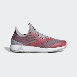 adizero Defiant Bounce Shoes Light Granite / Shock Red / Cloud White CG6351