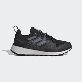 Terrex Folgian Hiker Hiking Shoes Core Black / Grey Three / Green Tint EF2267
