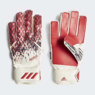 Predator 20 Fingersave Manuel Neuer Torwarthandschuhe White / Black / Active Red FR8373