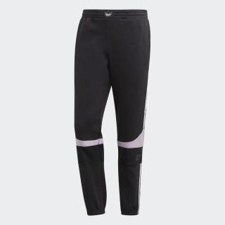 TS Trefoil Joggers Black / Clear Lilac ED7177