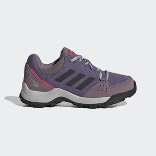 Zapatilla Terrex Hyperhiker Low Hiking Tech Purple / Core Black / Shock Red EE8495